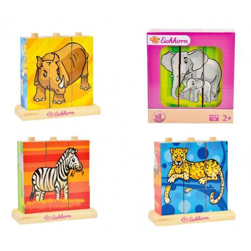 【德国eichhorn】可爱动物立体拼图