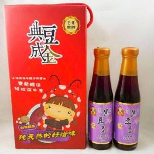 【典豆成金】甘露黑豆醬油禮盒組(250ml*2入/組)*5盒